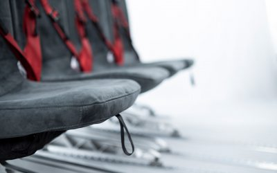 Folding safety seats for all classes of modern helicopter cabins